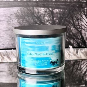 Avon Calming Waters 11oz Candle NWB